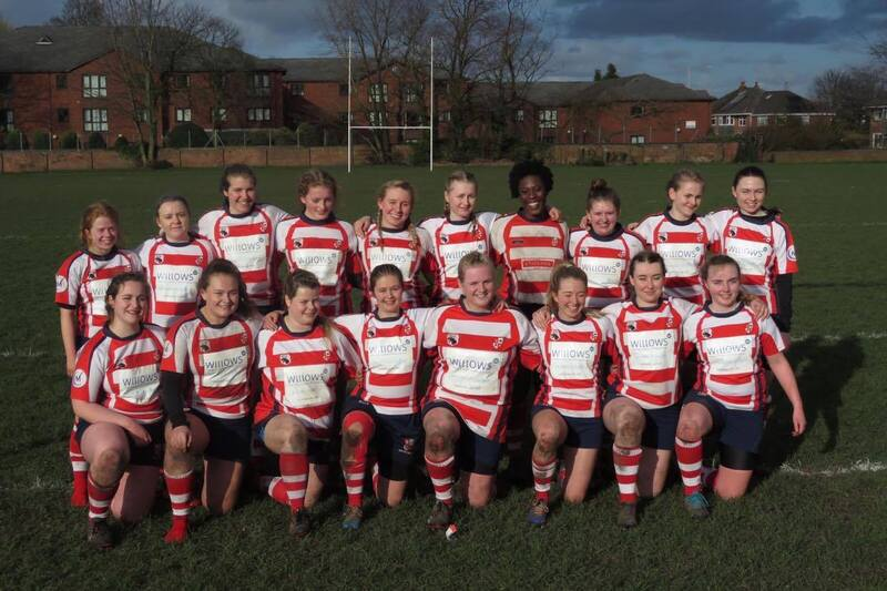 Liverpool Universitys womens rugby teams new 2016